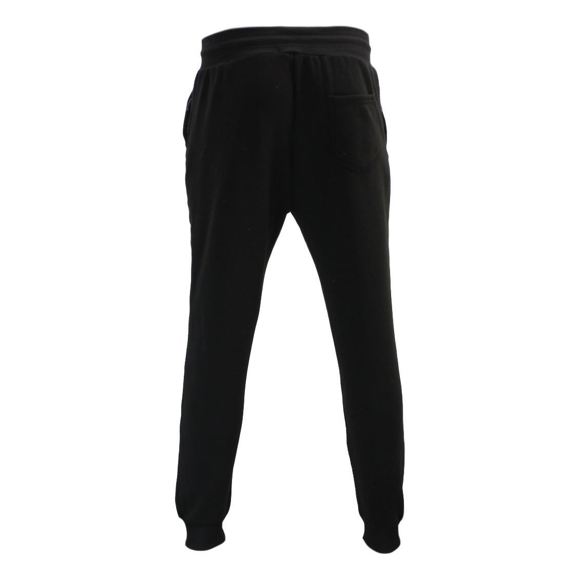 Men-039-s-Unisex-Jogger-Track-Pants-Casual-Gym-Zipped-Pockets-Slim-Cuff-Trousers thumbnail 5