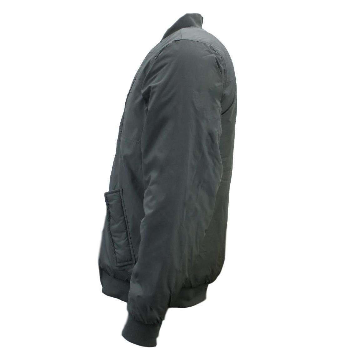 Ozemocean-Mens-Bomber-Jacket-Water-Resistant-Padded-Coat-Winter-Warm-Quilted thumbnail 7
