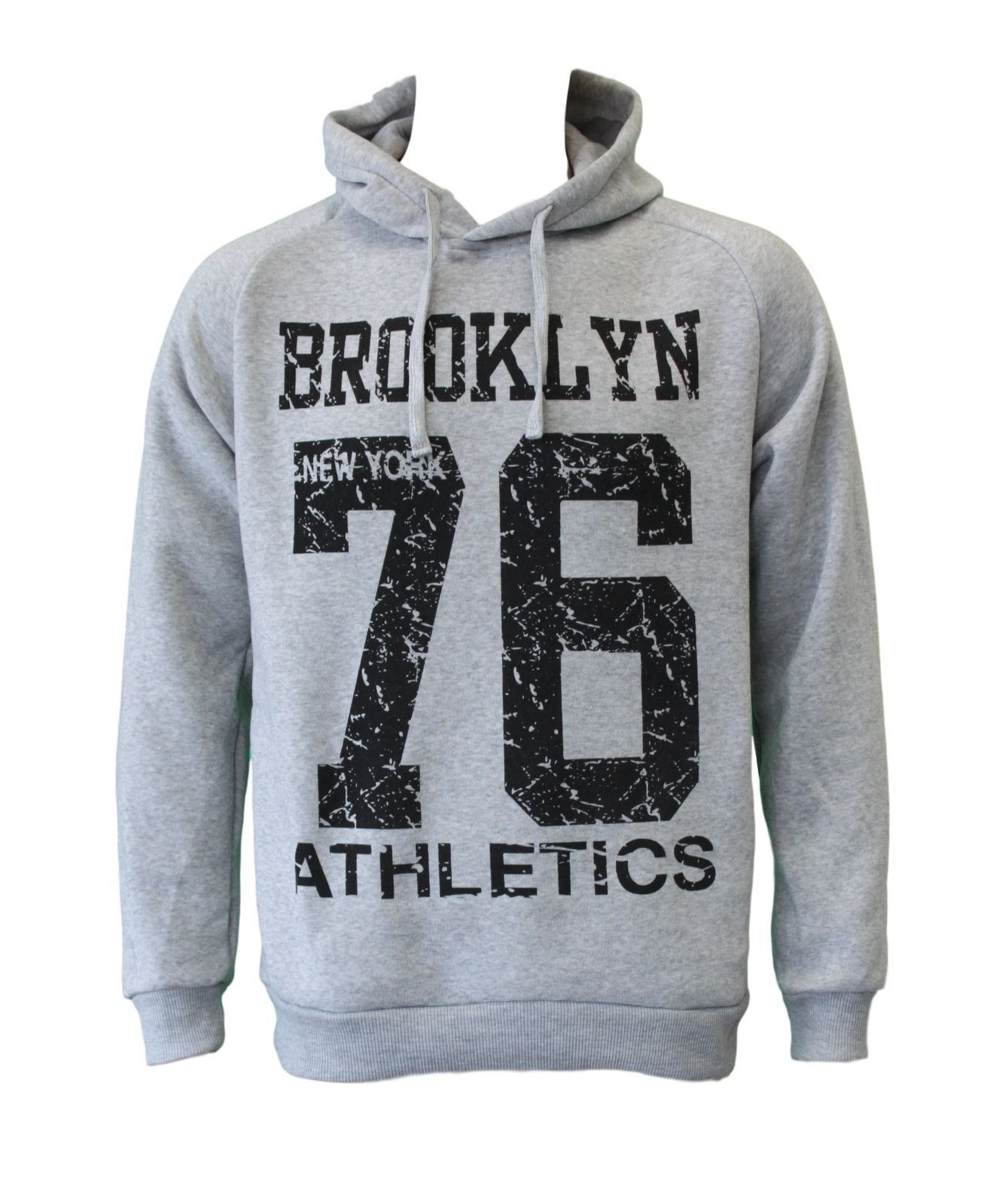 NEW-Men-039-s-Adult-Unisex-Hoodie-Jumper-Pullover-Casual-Sports-Brooklyn thumbnail 11