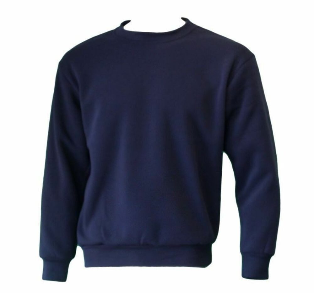 New-Men-039-s-Adult-Unisex-Crew-Neck-Jumper-Sweater-Pullover-Basic-Blank-Plain-S-3XL thumbnail 9