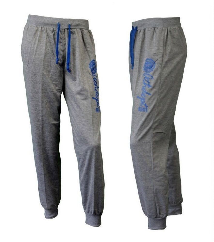 NEW-Men-s-Track-Pants-Cuff-Trousers-Harem-Sports-Casual-Elastic-Waist-Athdept thumbnail 9