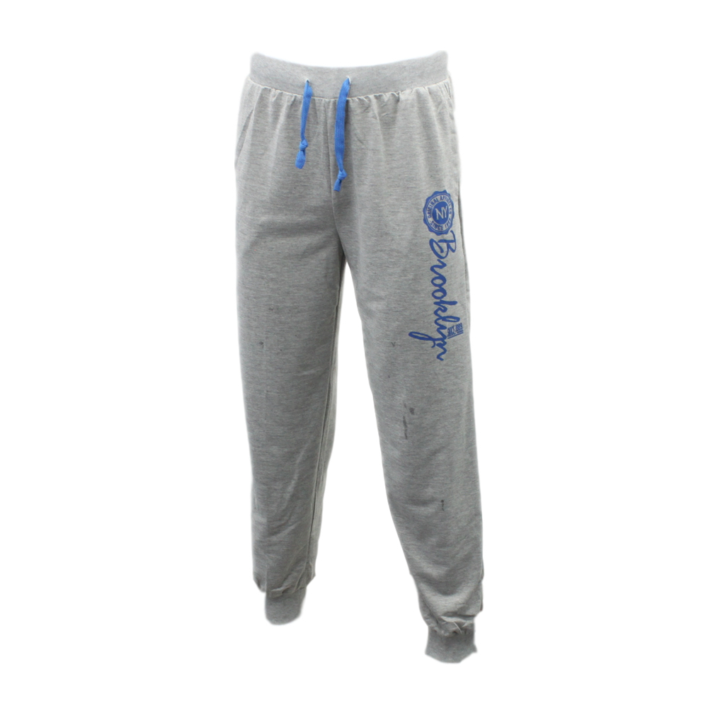 Men-039-s-Skinny-Jogger-Track-Pants-Cuff-Trousers-Trackies-Sweat-Pants-Brooklyn thumbnail 9