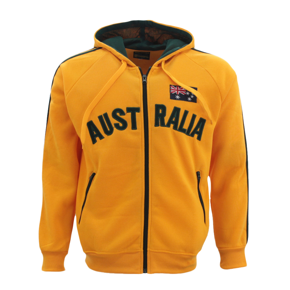 Adult-Zip-up-Hoodie-Jacket-Jumper-Australian-Australia-Day-Souvenir thumbnail 14