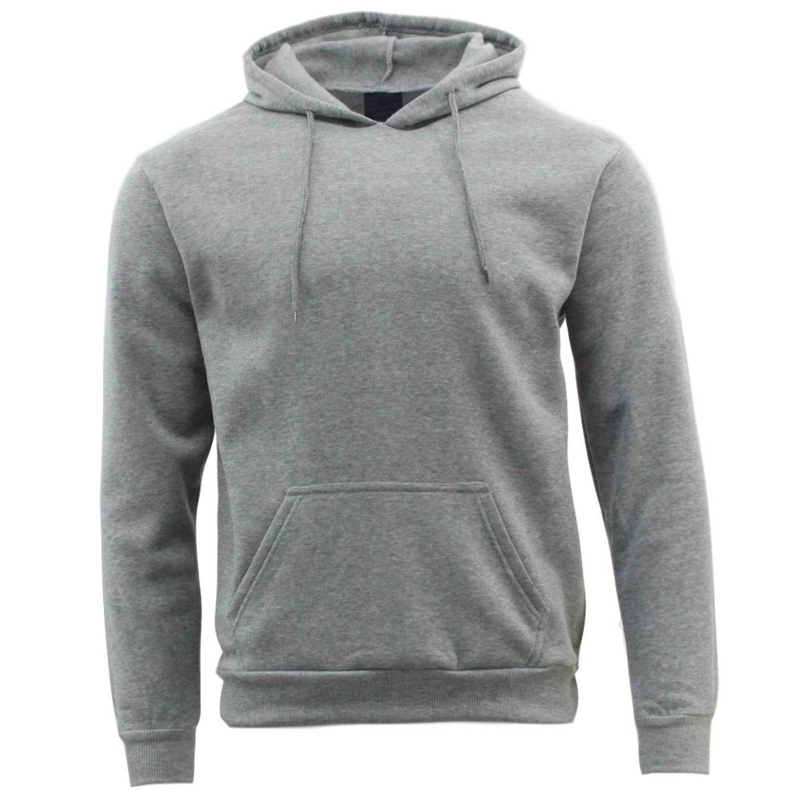 Adult-Men-039-s-Unisex-Basic-Plain-Hoodie-Jumper-Pullover-Sweater-Sweatshirt-XS-5XL thumbnail 45