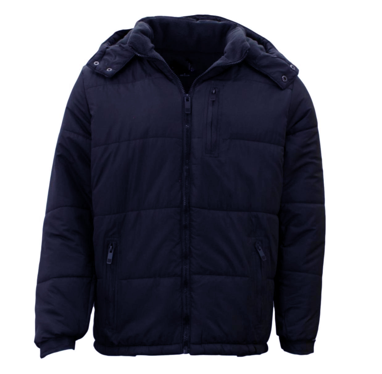 Stitch-Dodge-Mens-Parka-Puffer-Jacket-Quilted-Detachable-Hoodie-Puffy-Padded thumbnail 13