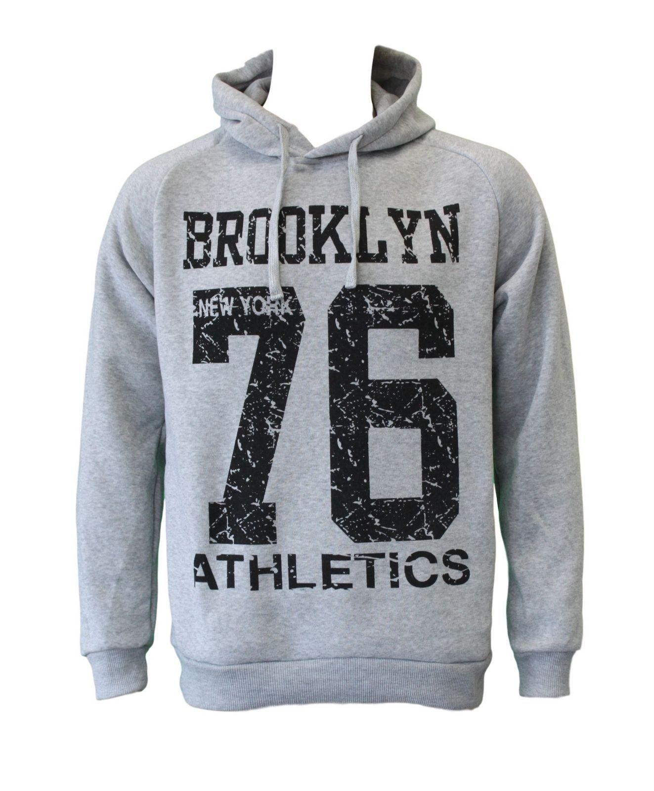NEW-Men-039-s-Adult-Unisex-Hoodie-Jumper-Pullover-Casual-Sports-Brooklyn thumbnail 10