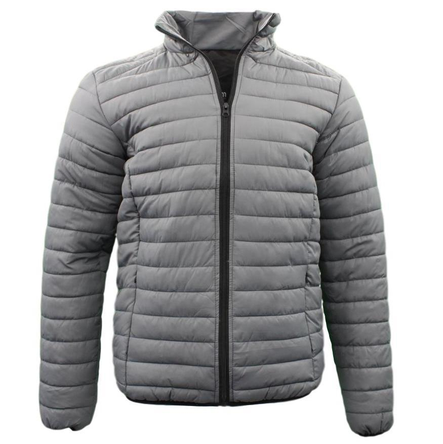 Men-039-s-Lightweight-Puffer-Puffy-Stand-Collar-Coat-Quilted-Winter-Down-Jacket thumbnail 11