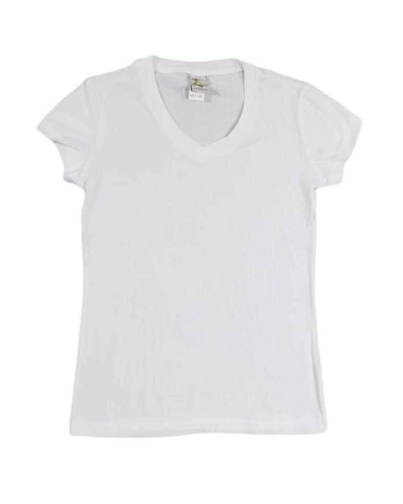 NEW-Womens-Ladies-Cotton-Stretch-T-Shirt-Tee-Top-Basic-Plain-White-Black-Colours thumbnail 12