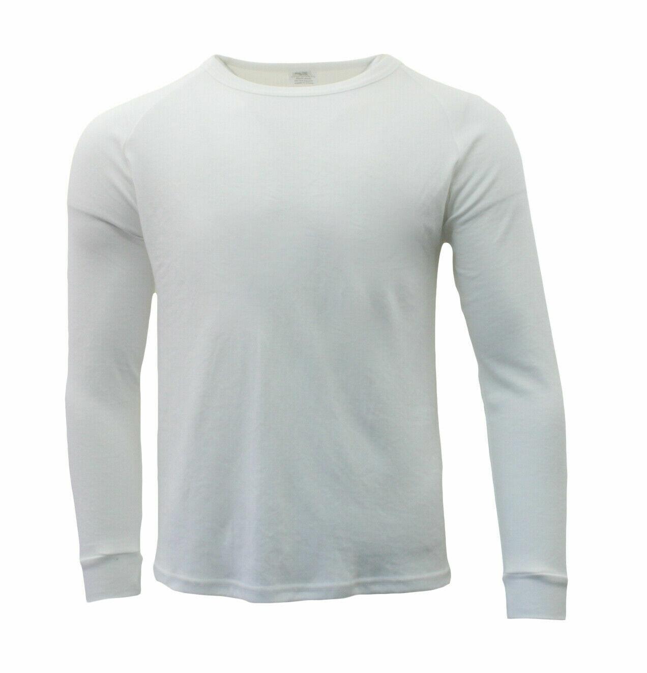 Men/'s Merino Wool Blend Long Sleeve Thermal Top Pants Long Johns Underwear S-2XL