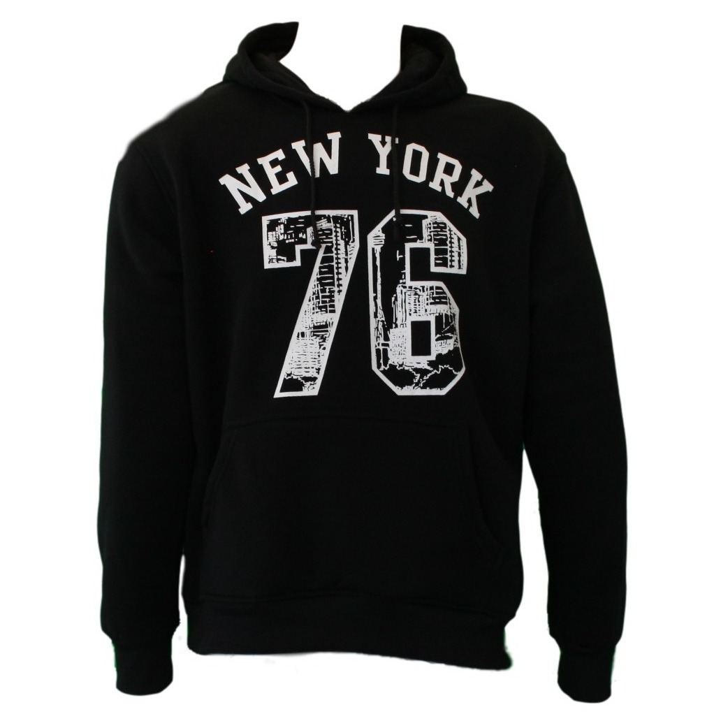 NEW-Men-039-s-Adult-Unisex-Hoodie-Jumper-Pullover-Casual-Sports-NEW-YORK-76 thumbnail 5