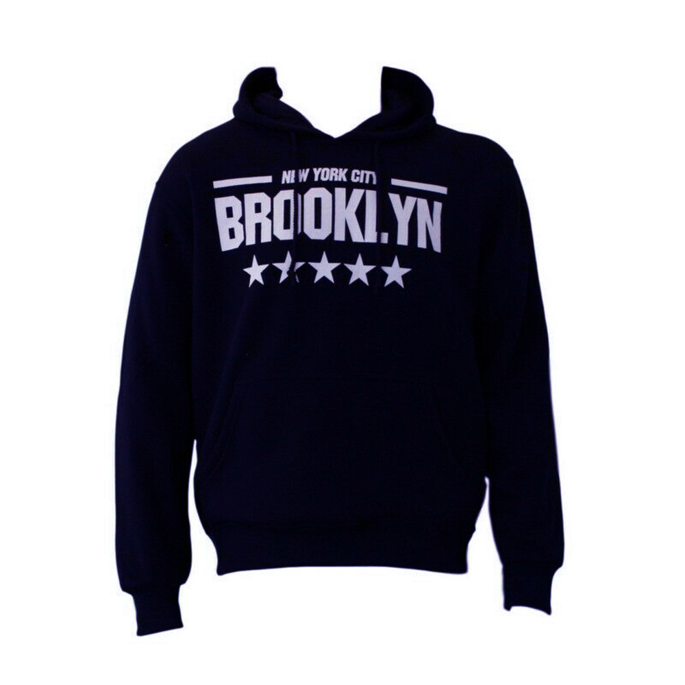 NEW-Men-039-s-Adult-Unisex-Hoodie-Jumper-Pullover-Casual-Sports-BROOKLYN thumbnail 8