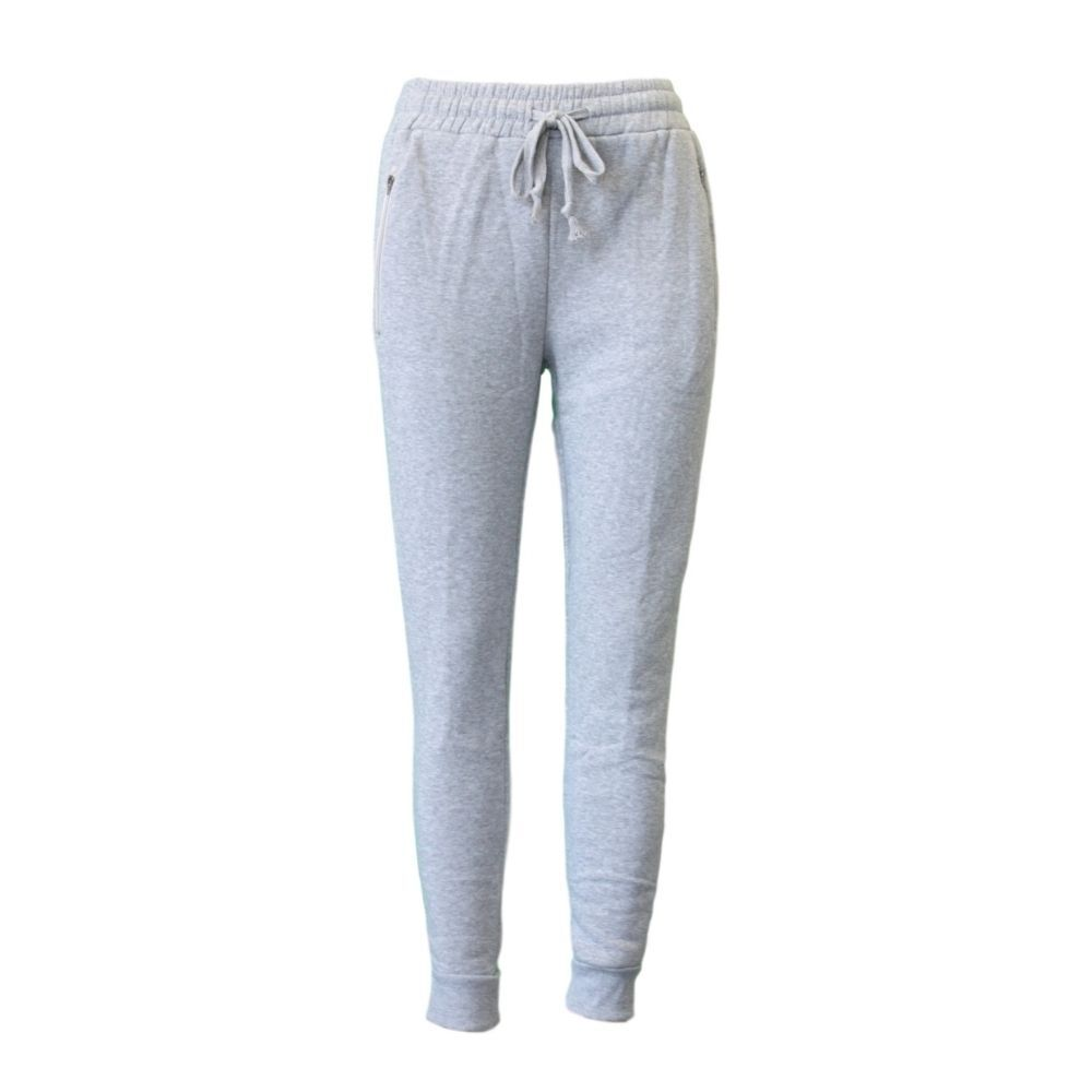 Women-039-s-Track-Pants-Soft-Fleece-Slim-Cuff-w-Zipped-Pockets-Ladies-Trackies-Basic thumbnail 7