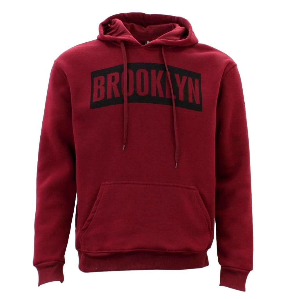 Adult-Men-039-s-Unisex-Hoodie-Hooded-Jumper-Pullover-Women-039-s-Sweater-BROOKLYN thumbnail 9