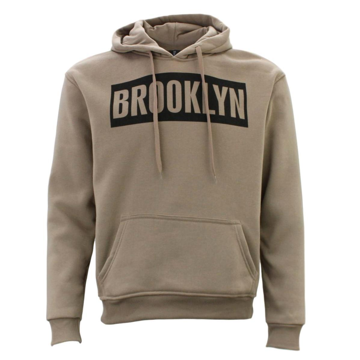 Adult-Men-039-s-Unisex-Hoodie-Hooded-Jumper-Pullover-Women-039-s-Sweater-BROOKLYN thumbnail 25