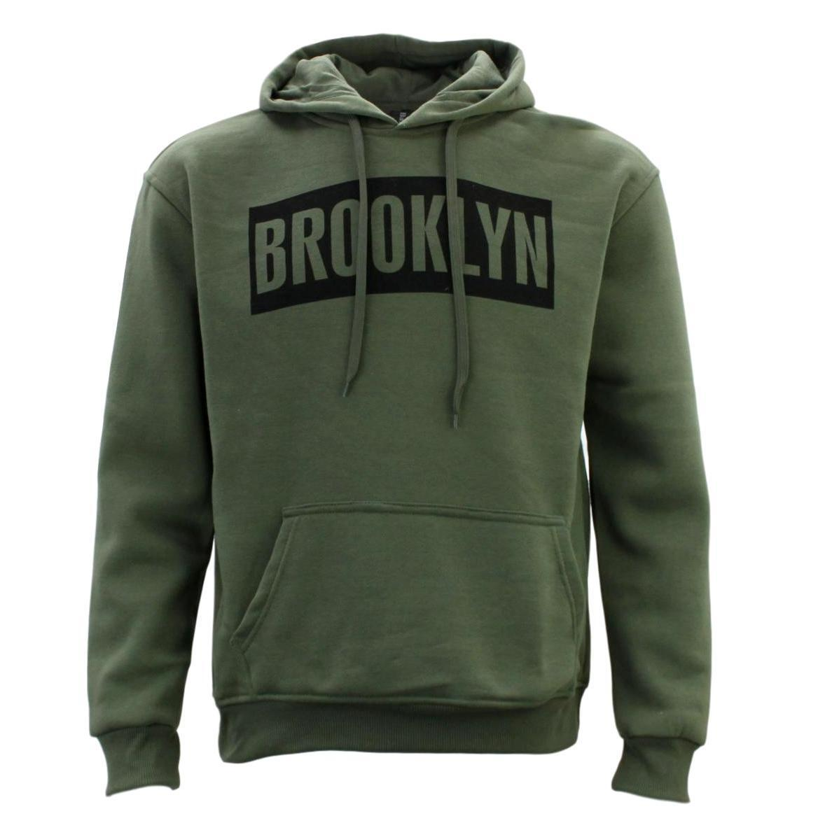 Adult-Men-039-s-Unisex-Hoodie-Hooded-Jumper-Pullover-Women-039-s-Sweater-BROOKLYN thumbnail 27