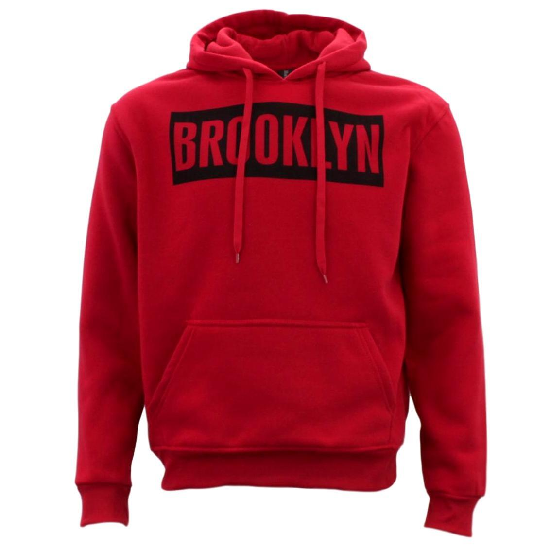 Adult-Men-039-s-Unisex-Hoodie-Hooded-Jumper-Pullover-Women-039-s-Sweater-BROOKLYN thumbnail 33