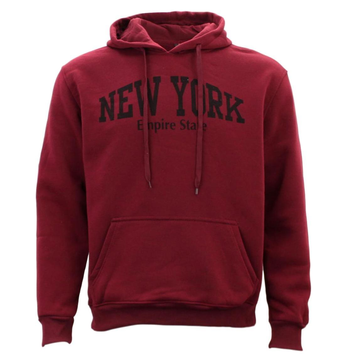 Adult-Men-039-s-Unisex-Hoodie-Hooded-Jumper-Pullover-Women-039-s-Sweater-NEW-YORK thumbnail 9