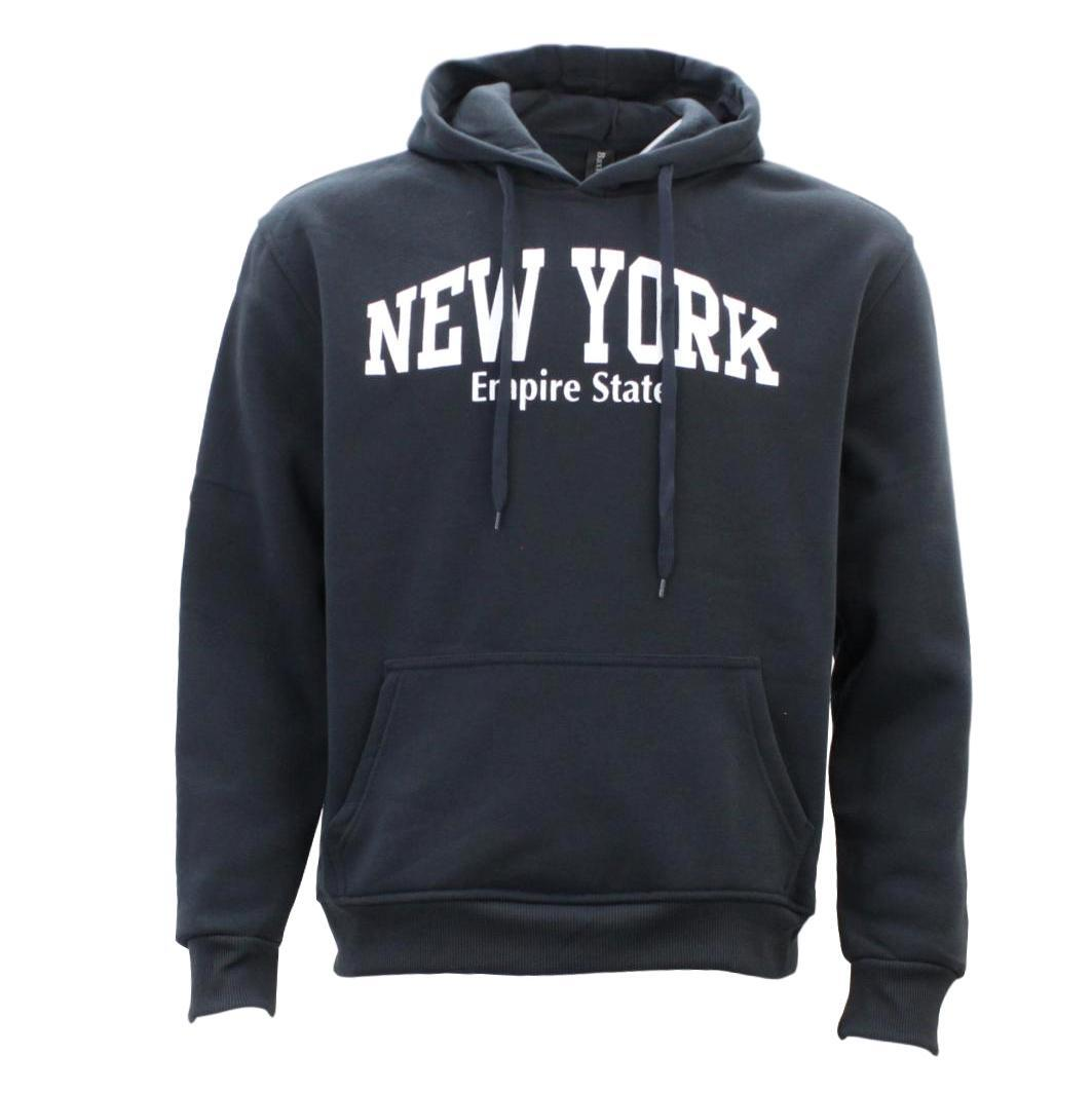 Adult-Men-039-s-Unisex-Hoodie-Hooded-Jumper-Pullover-Women-039-s-Sweater-NEW-YORK thumbnail 21