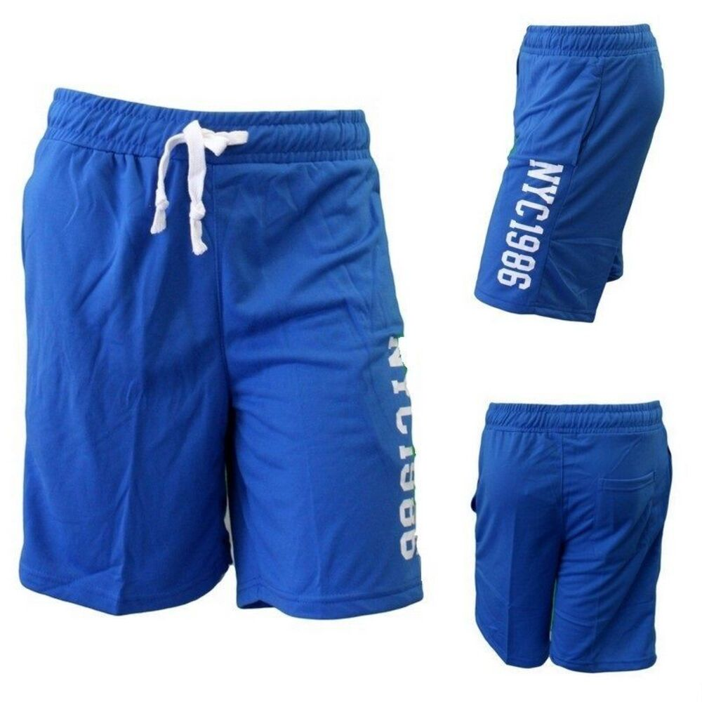 New-Adult-Mens-Gym-Sports-Training-Jogging-Casual-Basketball-Shorts-w-Drawstring thumbnail 12