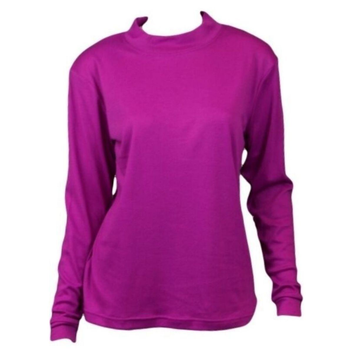 NEW-Women-039-s-Cotton-Skivvy-Long-Sleeve-Top-High-Neck-Basic-Plain-Core thumbnail 14