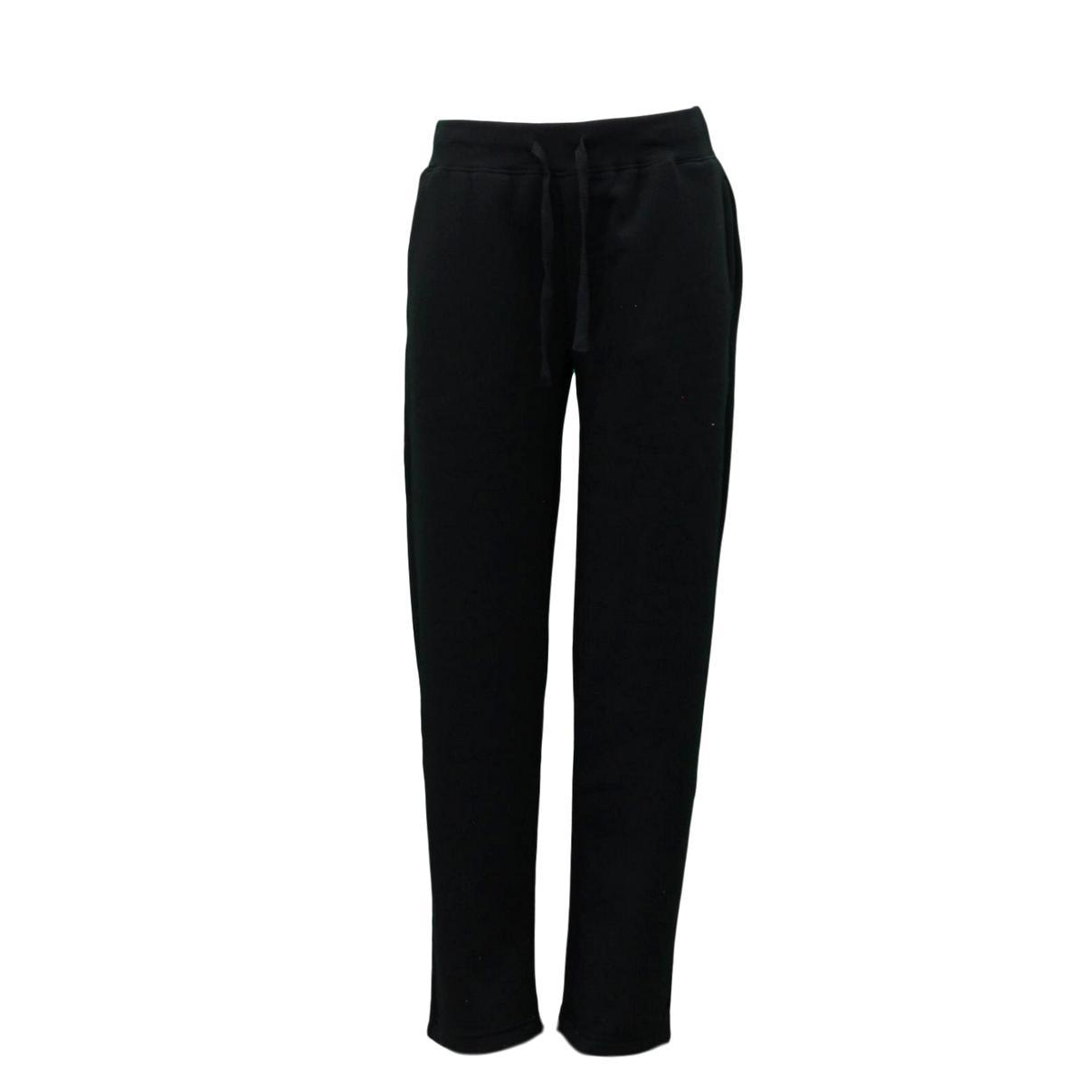 Women-039-s-Ladies-Wide-Leg-Track-Pants-Fleece-Lined-Sweatpants-Jogger-Trackies thumbnail 4