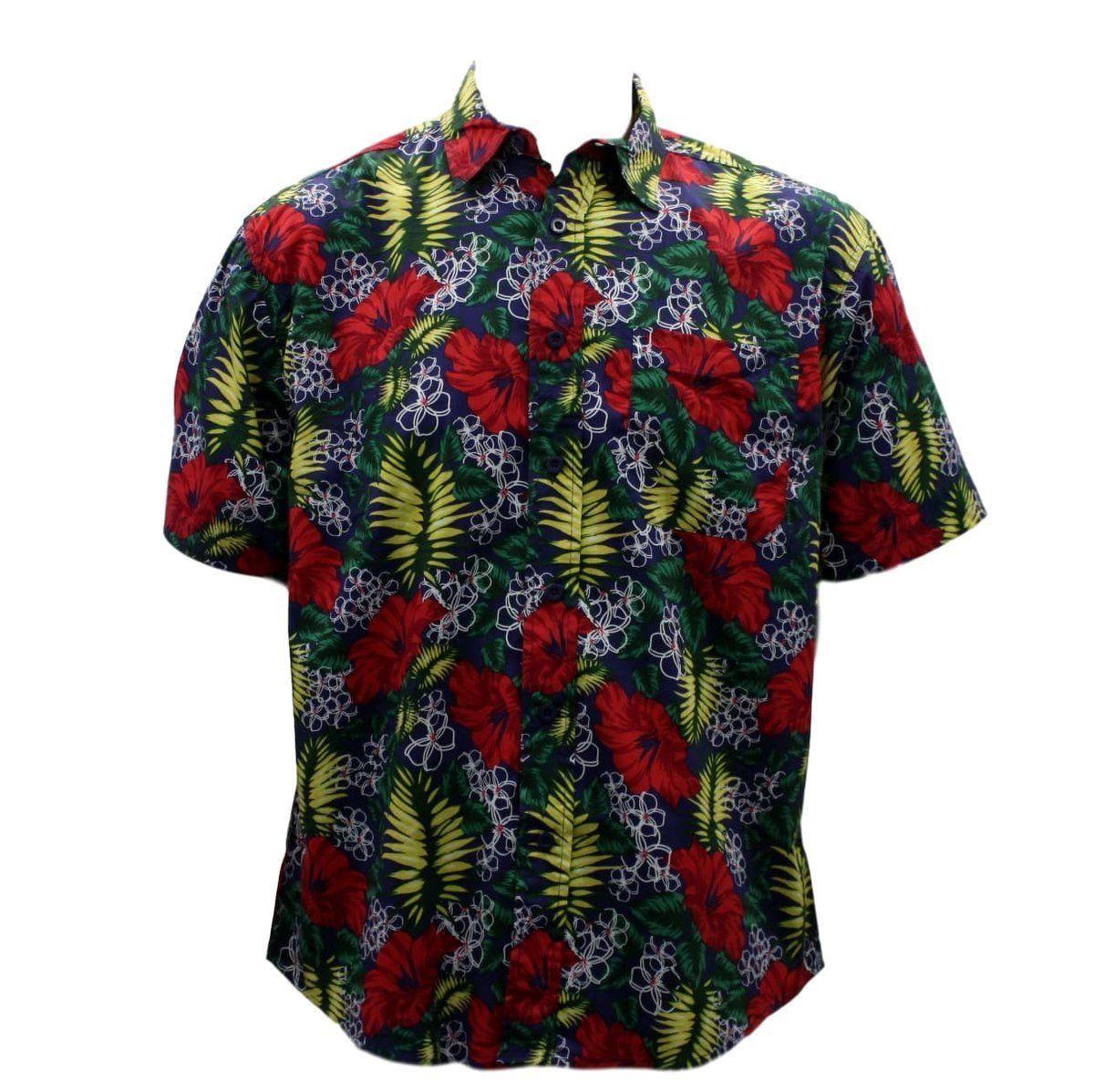 thumbnail 47 - NEW Men's Short Sleeve 100% Cotton Shirt Tropical Hawaiian Summer Style S-6XL