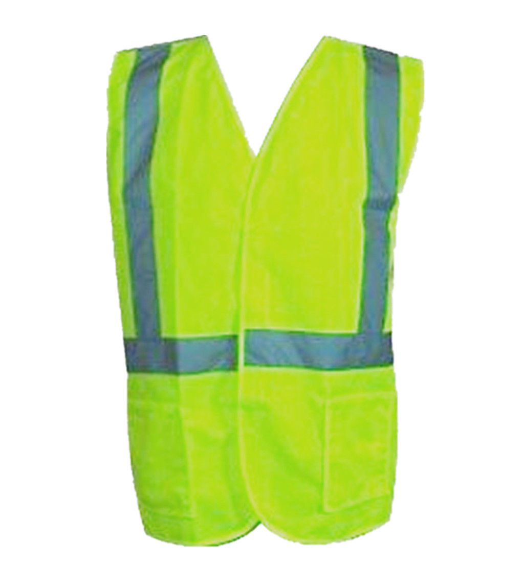Hi-Vis-Workwear-Safety-Vest-with-Reflective-Tape-Orange-and-Lime thumbnail 3