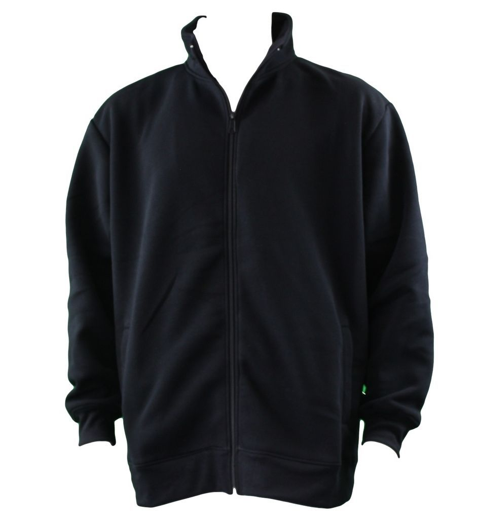 Men-039-s-Big-amp-Tall-Plus-Size-Zip-Up-Sweater-Jumper-Sports-Jacket-3XL-6XL thumbnail 5