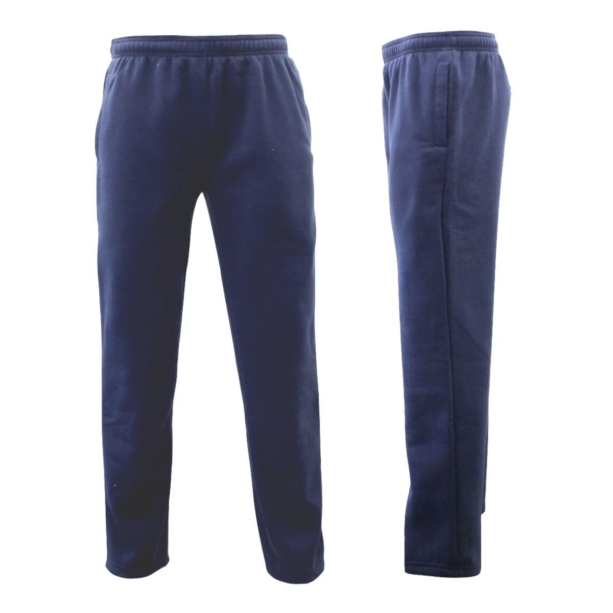 Men-039-s-Fleece-Lined-Track-Pants-Track-Suit-Pants-Casual-Winter-Elastic-Waist-B thumbnail 8