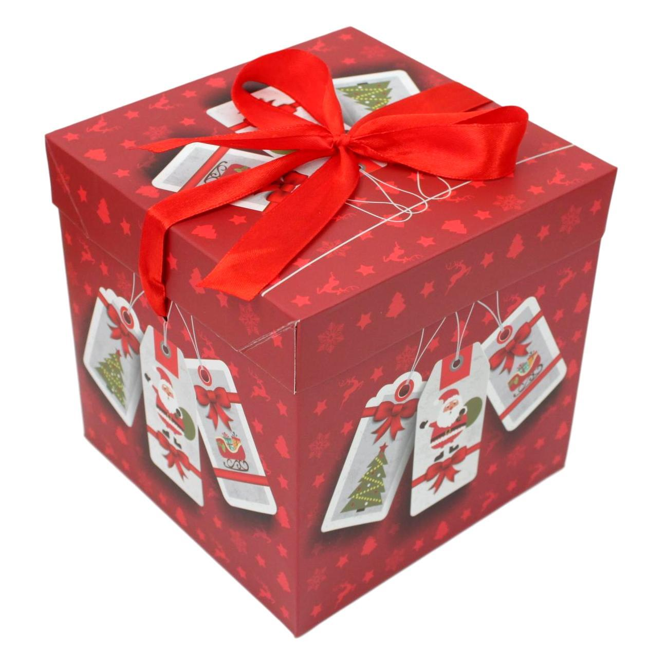 1pc/3pc Christmas Gift Box Large Present Wrapping Box ...