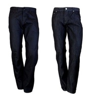 Men's Designer Jeans Denim Casual Pants Straight Leg 30 32 34 36 38 40