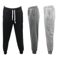 Men's Skinny Jogger Track Pants Slim Cuff Trousers Trackies Sweat Pants Slacks