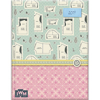 IWM - A Stitch in Time - 2019 Diary Planner A5 Padded Cover by The Gifted Stationery