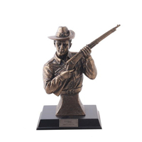 Bronze Décor Figurine ANZAC Limited Edition Silent Soldiers - Trench Warfare