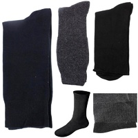 1/6pairs Diabetic Loose Top Non Elastic Cotton Medical Circulation Comfort Socks