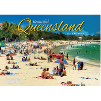 Beautiful Queensland - 2021 Rectangle Wall Calendar 13 Months by Bartel