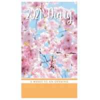 Friendship - 2021 Pocket Diary Planner 2 Week View 90x155mm - Design Group