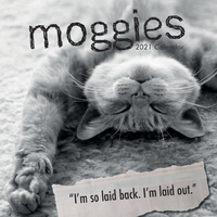 Moggies - 2021 Square Wall Calendar 16 month by Gifted Stationery (AB)