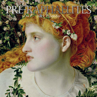 Pre-Raphaelites - 2021 Square Wall Calendar 16 month by Gifted Stationery (0)