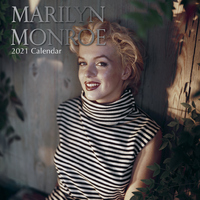 Marilyn Monroe - 2021 Square Wall Calendar 16 month by Gifted Stationery (L)