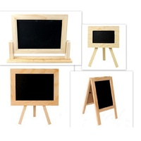 Home Wedding Party Cafe Blackboard Chalkboard Easle Stand Lolly Buffer Display
