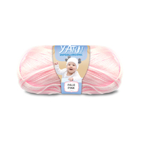 [#149 Pale Pink - Yatsal Baby] 100g Knitting Yarn 3 Ply Super Soft Acrylic Knitting Wool Solid Multi Colours