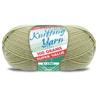 [#291 Fawn - Yatsal] 100g Knitting Yarn 8 Ply Super Soft Acrylic Knitting Wool Solid Multi Colours