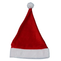 2x Kids Santa Hat Christmas Cap Costume Xmas Party Wear Costume Claus [Design: Santa Hat (Kids)]