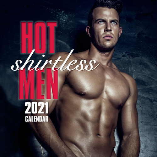 Hot Shirtless Men - 2021 Square Wall Calendar 16 month by Gifted Stationery (0)