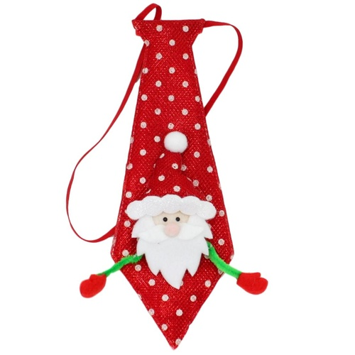 Christmas XMAS Tie for Kids Boys Santa Clothing Costume for Children B